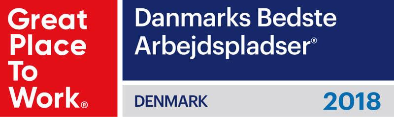 Billedresultat for great place to work logo denmark